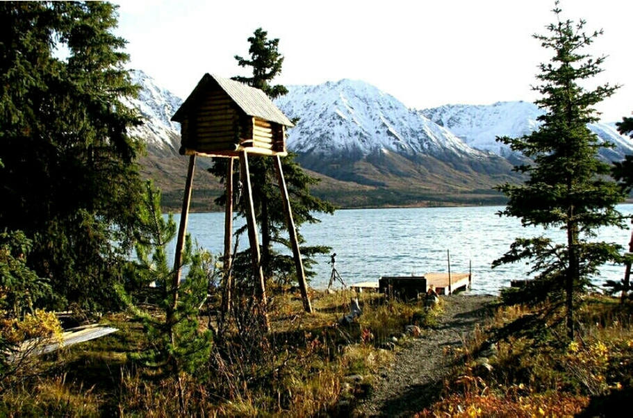 Lakes Alaska Wilderness Cabin In Lake Clark National Park